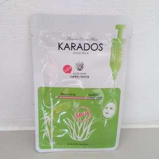 Karadoks Aloe Vera mask sheet