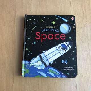 Usborne Peep Inside - SPACE