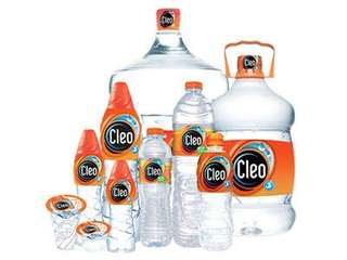 Air Mineral Cleo.