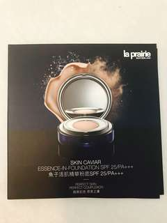 la prairie skin caviar essence in foundation 魚子活肌精華粉底 sample