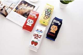 Korea Pencil Case Snack design