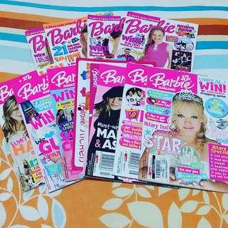 Barbie Magazines (12 issues)