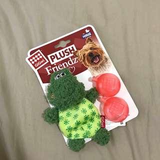 小蛙啾啾絨毛玩具