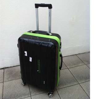 New Yorker 26 inches 8 wheels luggage with combination lock.