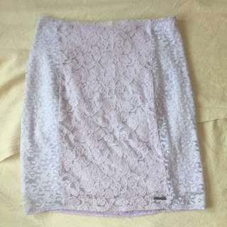 Abercrombie&Fitch Purple Pastel Span Skirt
