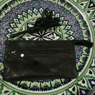 Topshop Leather Wristlet