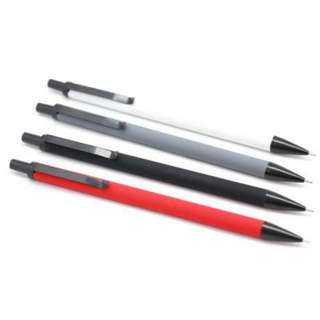 Premium Mechanical Pencil with Matt Finish + Pack of Lead (Assorted Colours)