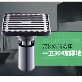 Stainless Steel Floor Drain Cover Bath Toilet