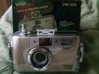 Kamera analog waterproofing (khusus menyelam) Vivitar UW-500