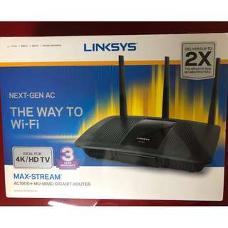 (BNIB - unopened and under warranty) LINKSYS EA7500-AHV2 AC1900+ MU-MIMO GIGABIT ROUTER