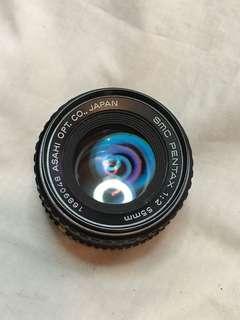 PENTAX SMC 55mm f2