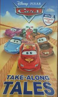 Disney PIXAR CARS Take-Along TALES with 8 storybooks (Stickers not included)