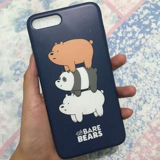 Iphone 7+ We Bare Bears Phone Case