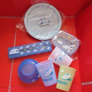 ShinKanSen 新幹線 膠器皿套裝 (2002年)