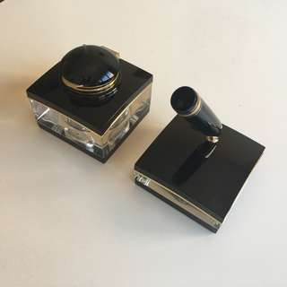 Genuine Mont Blanc Pen Stand and Inkwell for Meisterstück #149 Fountain Pen
