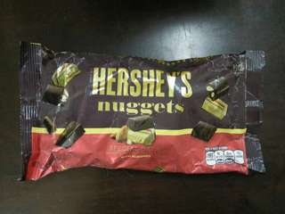 Hershey's Nuggets Special Dark Chocolate (with almonds)