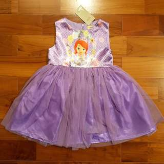 Tutu dress sophia ungu