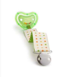 Available Soon: LATCH Rattle Pacifier and Clip