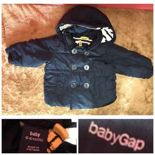 winter jacket for baby 0-6 months