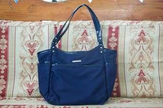 MICHAELA Blue handbag