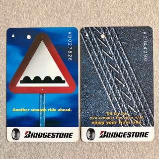 Vintage EZ-Link SMRT Train SMRT Bus MRT Card Transitlink Farecard SMRT Card Transitlink Card MRT Train EZ Link Cards Ezlink Card EZ-Link MRT Card Limited Edition Bridgestone Car Tyre
