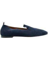 excellent condition Authentic HERMES denim roller flat shoes - 38 - fits 7.5-8