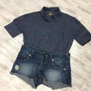 orig bossini jeans blouse