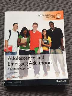Adolescence and emerging adulthood : a cultural approach / Fifth Edition - Jeffrey Jensen Arnett