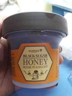 Skinfood Mask Wash Off Honey Blacksugat