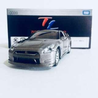 TAKARA TOMY TOMICA LIMITED TL0099 NISSAN SKYLINE GT-R R35 ( GREY ) - RARE