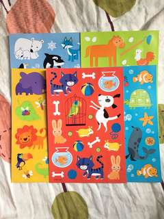 動物貼紙 Animals Stickers