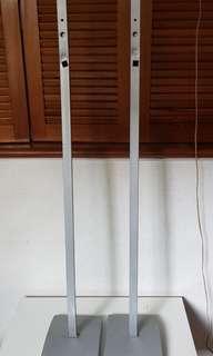 Custom-made Satellite Speakers Stands