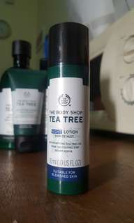 TEA TREE NIGHT LOTION