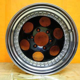 16inch SPORT RIM 4x4 ORIGINAL MADE IN JAPAN OFFROAD WHEELS