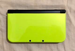 New 3DS XL Lime Green