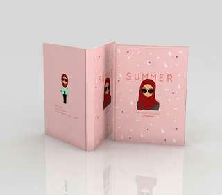 "Notebook (Agenda) ""SUMMER"" »Hijab Edition«"