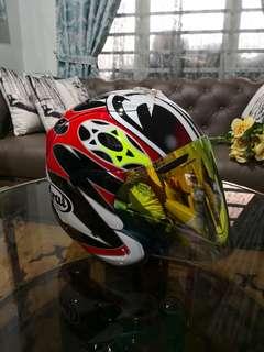 Arai Ram4 Nakasuga size L Jual atau Swap helmet size XL