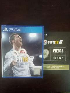 PS4 Games - FIFA 18 [New] + World Cup Mode + FUT Icon