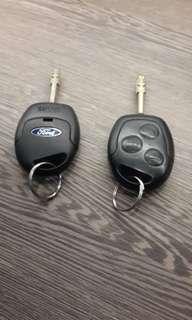 🚚 福特原廠晶片鑰匙(有兩隻,一隻600)