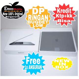 "Kredit New Macbook Pro MPXT2 Grey-13""/i5/8/256GB-Call/Wa;081905288895"