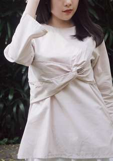 Knotted Blouse
