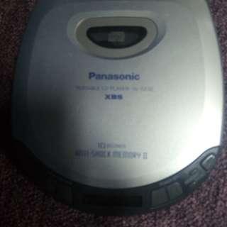 Panasonic portable cd player sl-s230 xbs discman