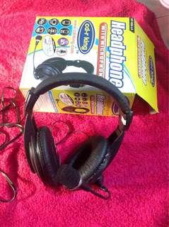 Headphone with Microphone