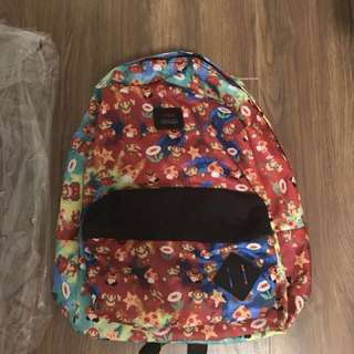 Vans old school crossover mario backbag