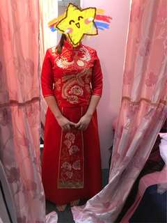 Kua/中式龙凤服