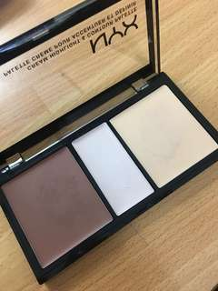 NYX Cream Contour & Highlight Palette