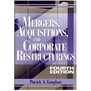 Mergers, Acquisitions, and Corporate Restructurings, 4th Edition (639 Page Mega eBook)