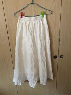 🚚 白色長裙