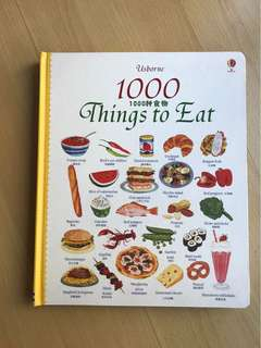 Usborne - 1000 Things to Eat