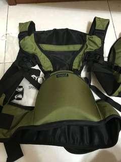 🚚 韓國 Pognae smart 3合1 椅凳背帶 狀況近全新 軍綠色